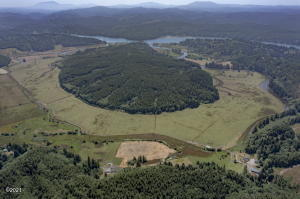 3071 Hidden Valley Rd, Toledo, OR 97391 - Aerial Property Overview