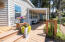 3810 Evergreen Ave, Depoe Bay, OR 97341 - Covered side porch