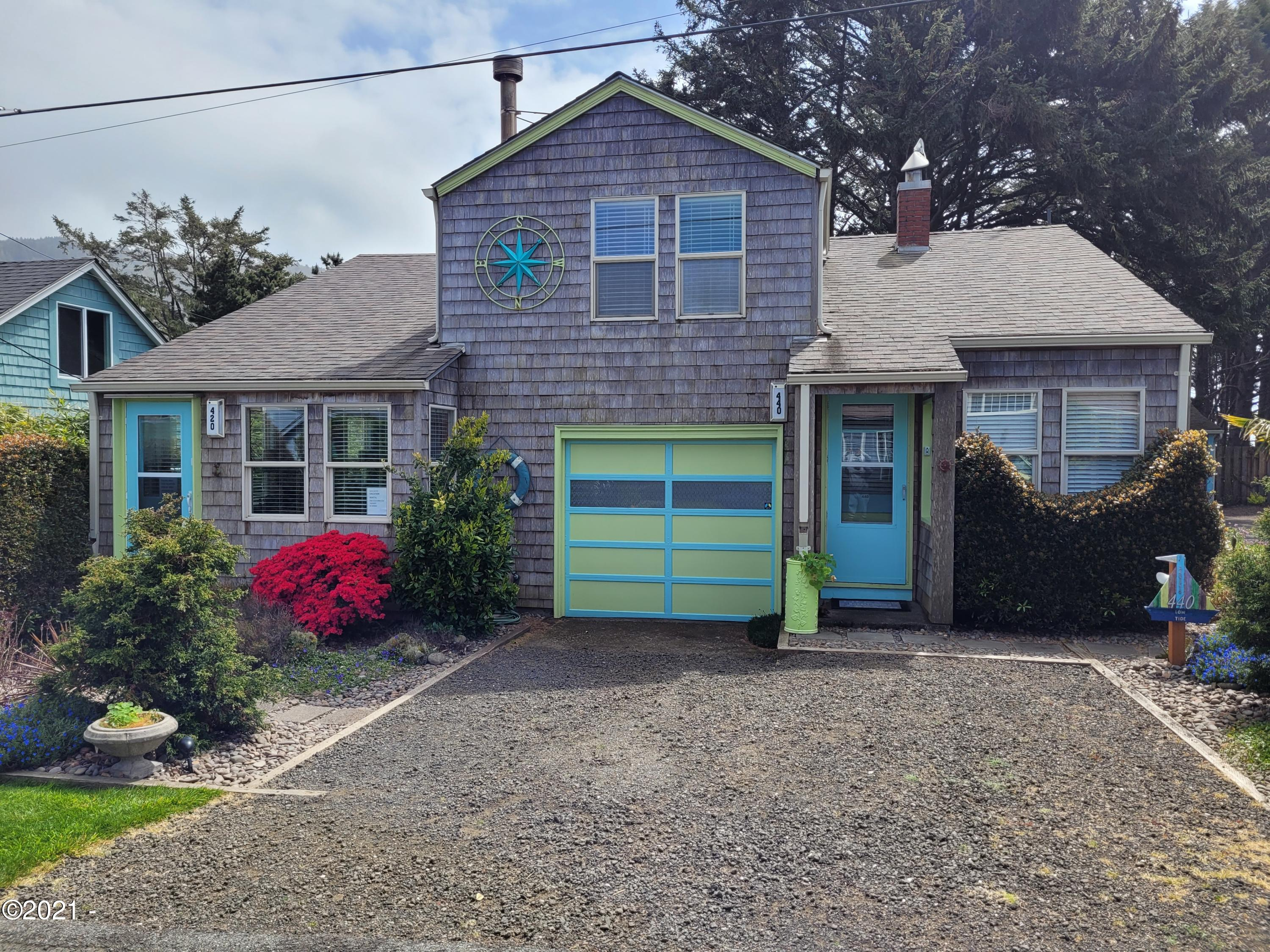 420-440 W 2nd St, Yachats, OR 97498 - Housefront