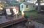 420-440 W 2nd St, Yachats, OR 97498 - Back deck and shed