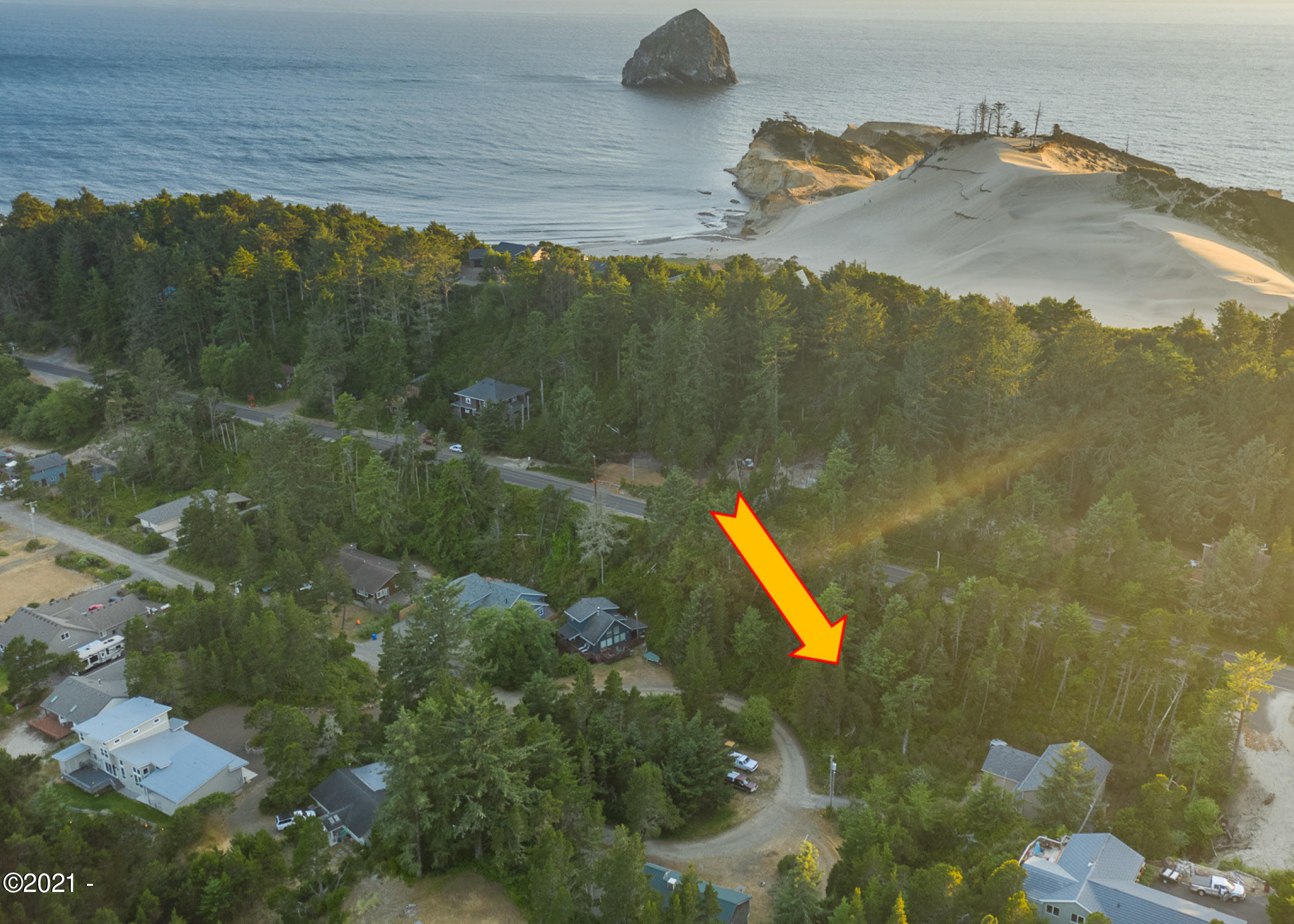 LOT 16 Circle Drive, Pacific City, OR 97135 - Brown Arrow
