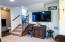 3278 SW Beach Ave, Lincoln City, OR 97367 - Stairway to bedroom 2