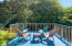 3278 SW Beach Ave, Lincoln City, OR 97367 - Deck with chairs