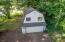710 N Bay Blvd, Toledo, OR 97391 - Good view of detached garage & loft