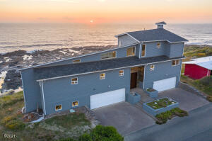 651 Ocean View Dr, Yachats, OR 97498 - Sunset