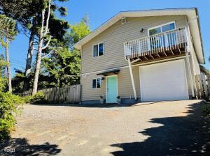 40 Wesler St, Gleneden Beach, OR 97388 - front of house