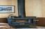 955 NE Mill St, B4, Waldport, OR 97394 - wood stove