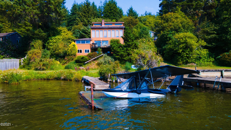 2963 NE East Devils Lake Rd, Otis, OR 97368 - House View from Lake