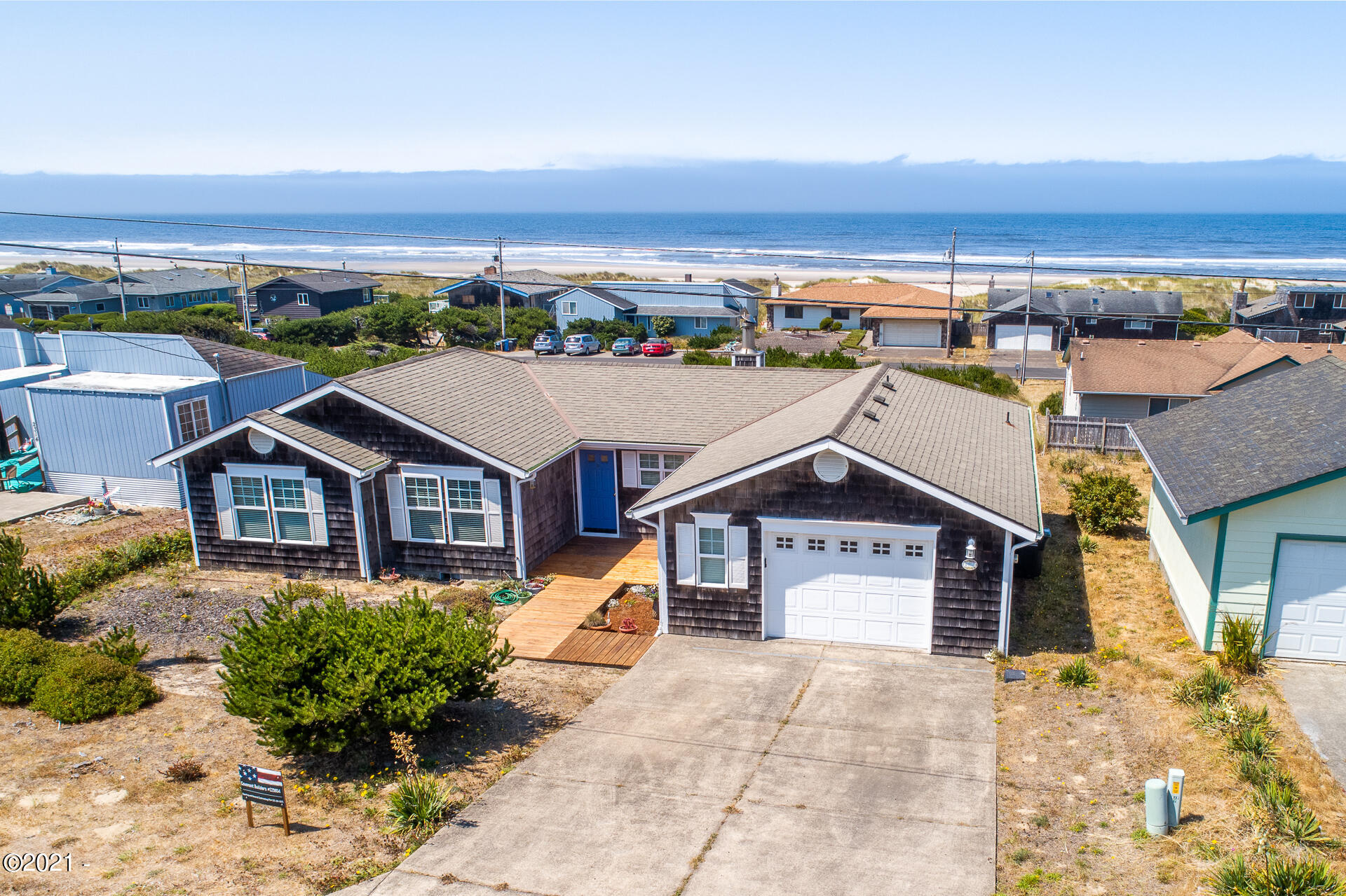 2402 NW Convoy Way, Waldport, OR 97394 - Aerial View of House