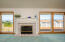 2402 NW Convoy Way, Waldport, OR 97394 - Fireplace with Ocean View