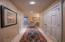 1417 NW Fircrest Ct, Waldport, OR 97394 - lower level hallway