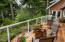 1417 NW Fircrest Ct, Waldport, OR 97394 - main level deck