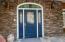 1417 NW Fircrest Ct, Waldport, OR 97394 - front door