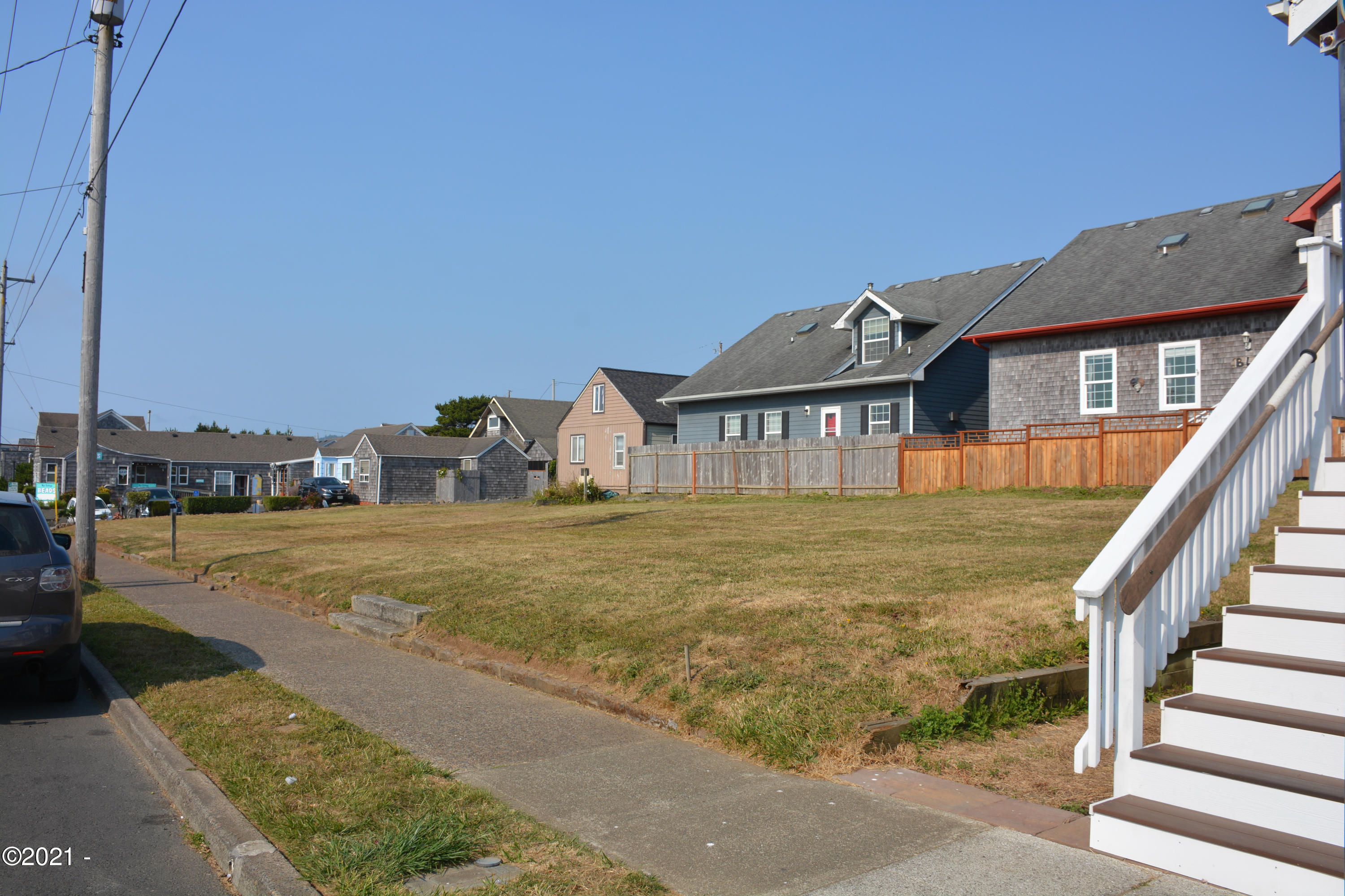 TL6600 NW Coast St, Newport, OR 97365 - View of lot from SW corner