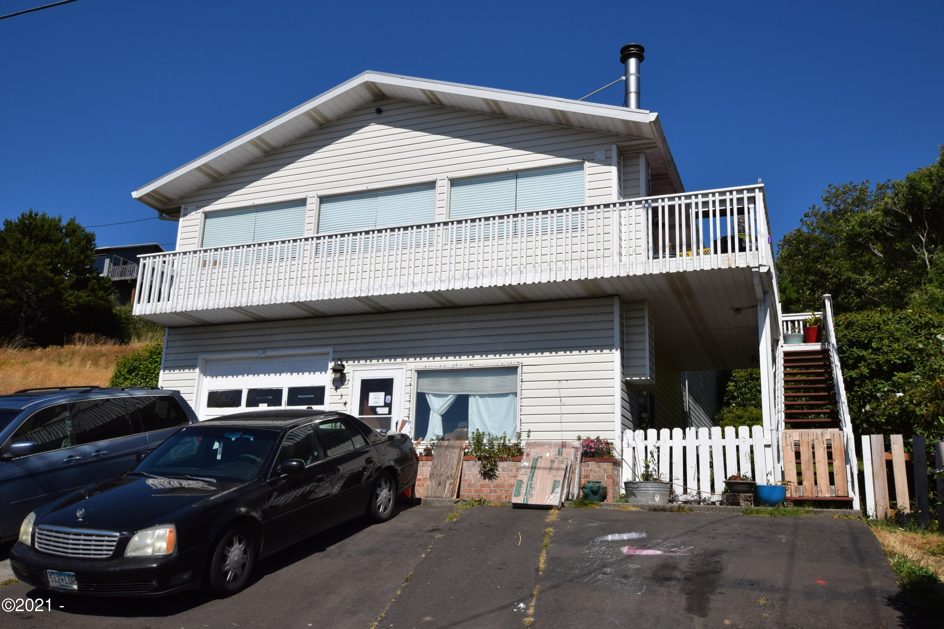 1434 NE Mast Ave, Lincoln City, OR 97367 - Front