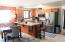 1420 SW Crest Cir, Waldport, OR 97394 - Kitchen with Views