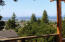 1420 SW Crest Cir, Waldport, OR 97394 - Up stairs deck view