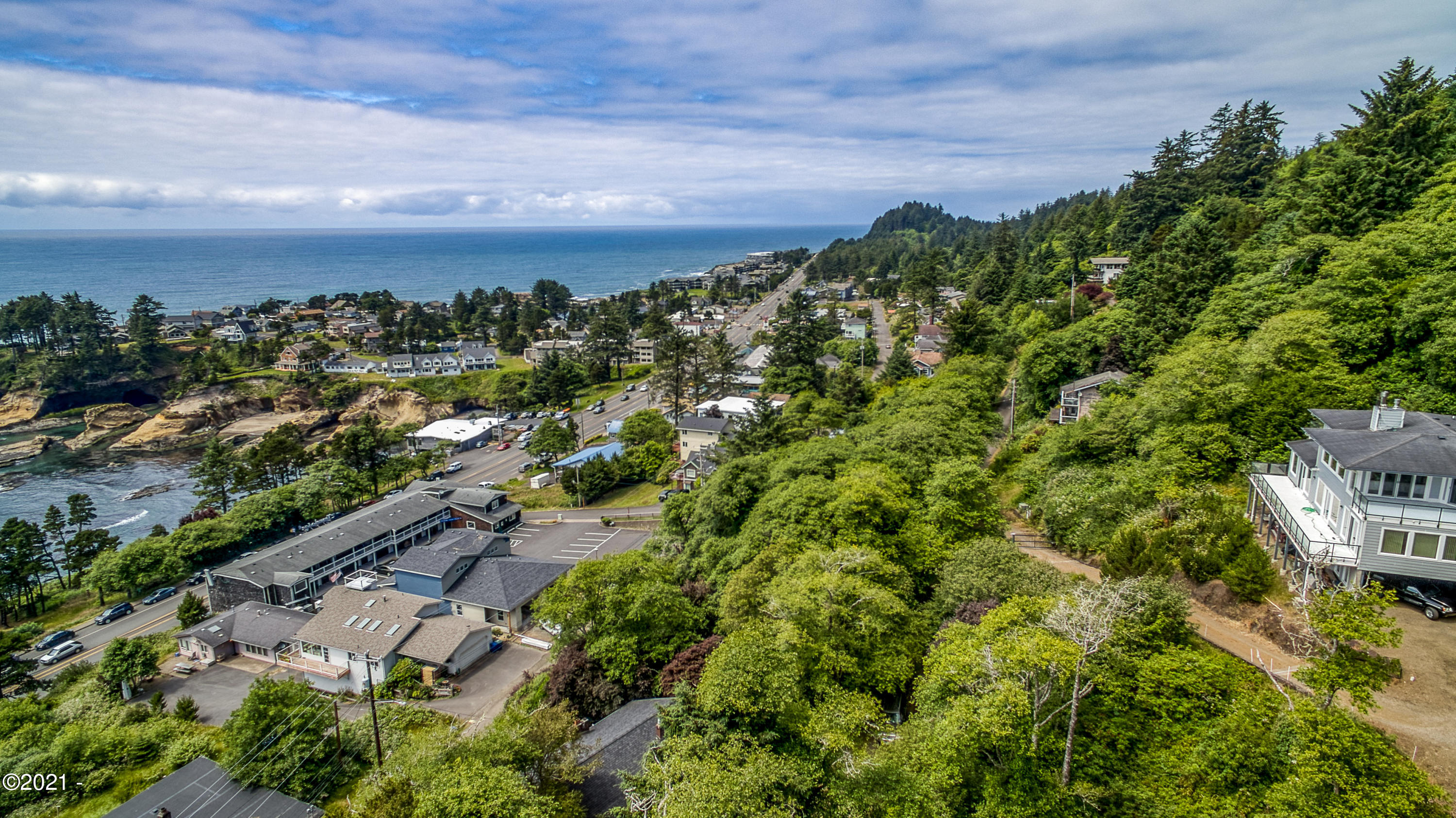 TL 8200 NE Bensell Pl, Depoe Bay, OR 97341 - lot and view