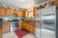24 N Trout Ln, Otis, OR 97368 - Kitchen with updated appliances