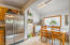 24 N Trout Ln, Otis, OR 97368 - Kitchen and dining area