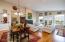 108 Sea Crest Ct, Otter Rock, OR 97369 - Open Floorplan Dining & Living
