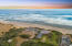 7469 NW Finisterre Ave, Yachats, OR 97498 - Drone view looking west