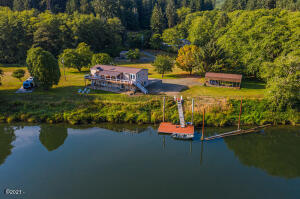 9516 Siletz Hwy, Lincoln City, OR 97367 - Aerial View From Across River