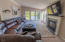 9516 Siletz Hwy, Lincoln City, OR 97367 - Living Room w/ Gas Fireplace