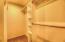 1423 NE High Meadows Dr., Waldport, OR 97394 - Master Closet