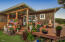 7469 NW Finisterre Ave, Yachats, OR 97498 - Front entry