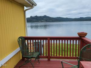 955 NE Mill St, E12, Waldport, OR 97394 - Water view from Deck