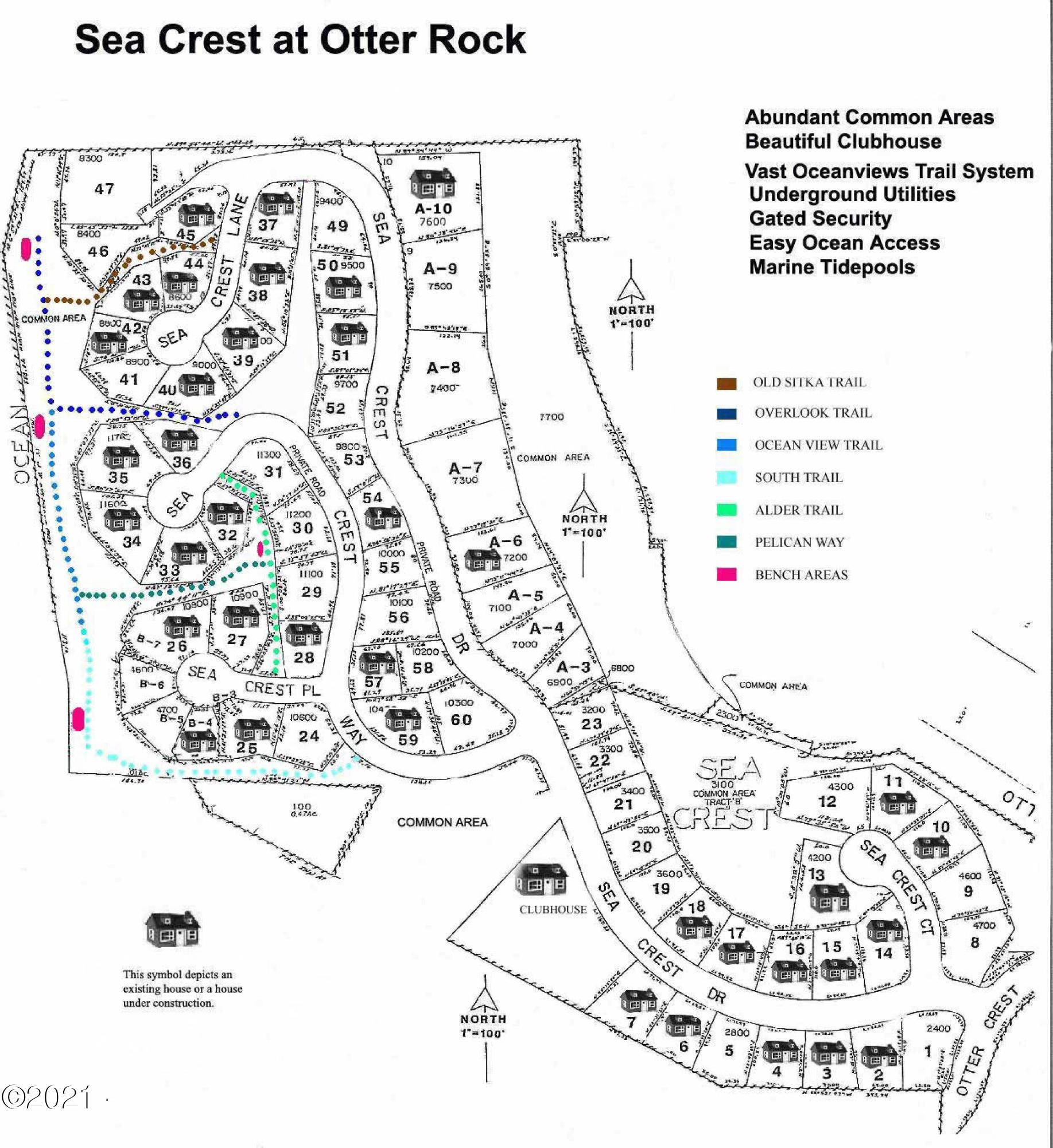 TL 2 AND 3 Sea Crest Dr., Otter Rock, OR 97369 - sea crest overview