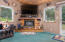 32905 Hwy 22, Hebo, OR 97122 - Living Room w/Fireplace