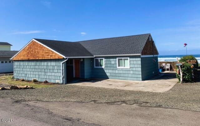 5198 SW Pacific Coast Hwy, Waldport, OR 97394 - Front of home