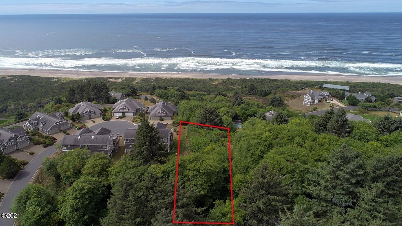 LOT 15 Tyee, Neskowin, OR 97149 - Aerial W direct