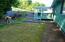 1550 SW Forest Pkwy, Waldport, OR 97394 - Fenced back yard