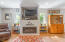 5745 El Mesa Ave, Lincoln City, OR 97367 - Gas fireplace