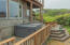 4675 Lincoln Ave, 1/7TH SHARE, Depoe Bay, OR 97341 - Hot tub and patio