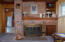 1905 NE 58th St, Lincoln City, OR 97367 - Fire place