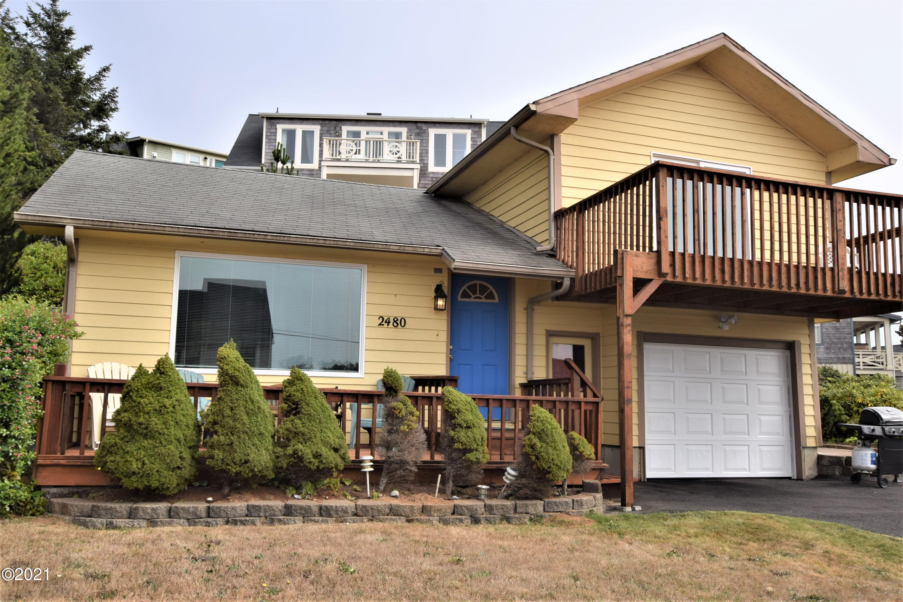 2480 SW Anchor Ave, Lincoln City, OR 97367 - Front