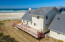 Aerial of Ocean Front House