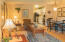 301 Otter Crest Dr, #206-7, 1/12th Share, Otter Rock, OR 97369 - Living/dining to kitchen