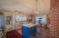 400 SE Gibson Rd, Waldport, OR 97394 - Kitchen island.