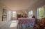 400 SE Gibson Rd, Waldport, OR 97394 - Upper level master bedroom.