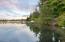 TL 600 NE East Devils Lake Rd, Otis, OR 97368 - View of Lot From Neighbor's Dock
