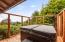 1320 SW Ocean Terrace, Waldport, OR 97394 - Hot Tub Off Main Bedroom