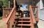 100 E Rosebud Ln, Tidewater, OR 97390 - Back deck