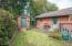 4870 Cloudcroft Ln, Florence, OR 97439 - Back yard and storage shed