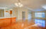 840 NW Grouse St, Seal Rock, OR 97376 - Kitchen and Living area