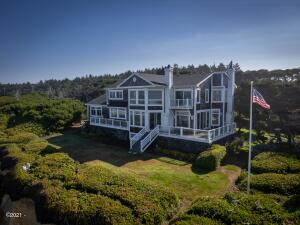 11960 NW Short St, Seal Rock, OR 97376 - Ocean Side of House